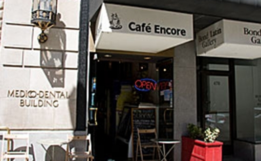Cafe Encore at Union Square, San Francisco