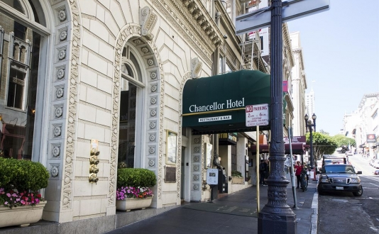 Chancellor Hotel on Union Square, San Francisco