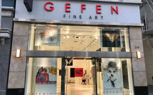 Gefen Fine Art in Union Square, San Francisco