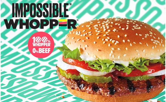 Impossible™ Whopper® | 100% Whopper, 0% beef.