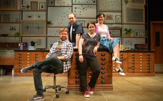 An Entomologist's Love Story at the SF Playhouse in Union Square, San Francisco