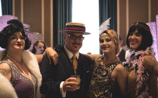 1920's Prohibition NYE Bash at the Starlight Room at the Kimpton Sir Francis Drake Hotel in Union Square, San Francisco