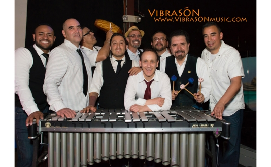 Latin Vibe Tuesdays with VIBRASON & Emilie Schattman at Bar Fluxus in Union Square, San Francisco