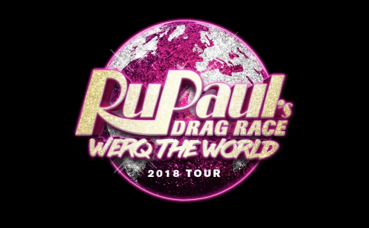 Rupaul's WERQ The World Tour 2018 at the San Francisco Curran Theater in Union Square, San Francisco