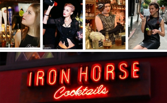 Fundraiser for Ironhorse Cocktails Crew