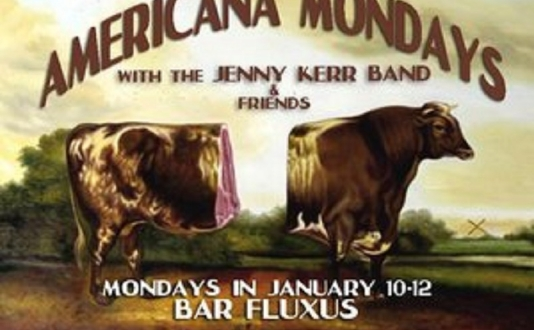 6 Roses & Americana Mondays with The Jenny Kerr Band at Bar Fluxus in Union Square, San Francisco
