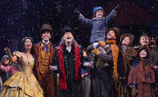 A Christmas Carol at A.C.T.'s Geary Theater in Union Square, San Francisco
