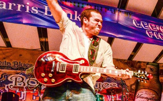 Albert Castiglia at Biscuits and Blues in Union Square, San Francisco