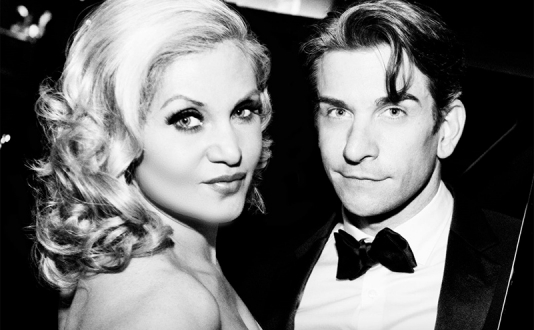 Andy Karl and Orfeh at the Feinstein's at the Nikko in Union Square, San Francisco