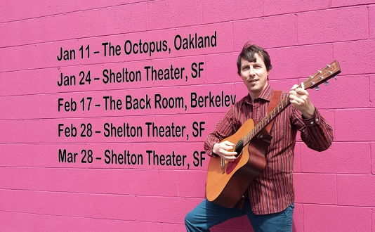 Adrian West Band at Shelton Theater in Union Square, San Francisco