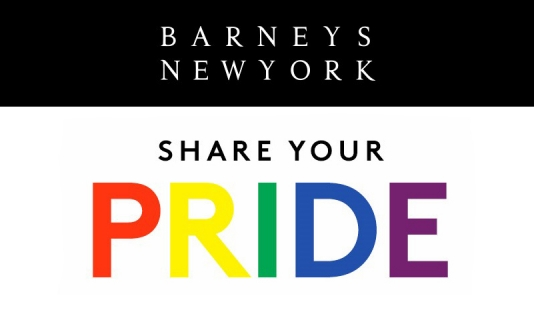 Share Your Pride with Barney's New York in Union Square, San Francisco