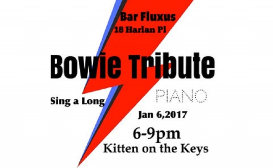 Kitten on the Keys: Bowie Tribute & .M All Tomorrow's Parties at Bar Fluxus in Union Square, San Francisco