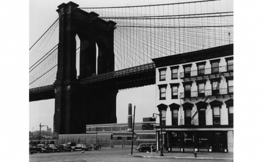 New York, New York: Brett Weston, Brooklyn Bridge, 1946