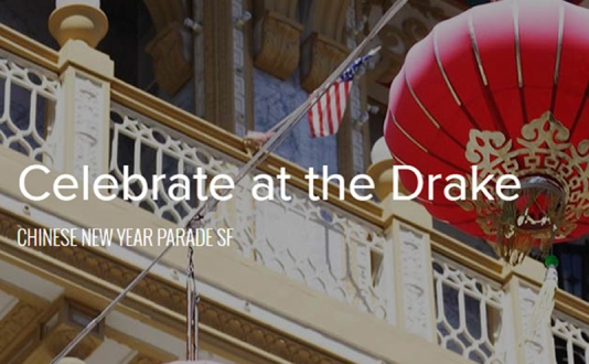 Buffet at Sir Francis Drake Hotel Celebrating Chinese New Year 2017: The Year of the Rooster at Sir Francis Drake Hotel in Union Square, San Francisco