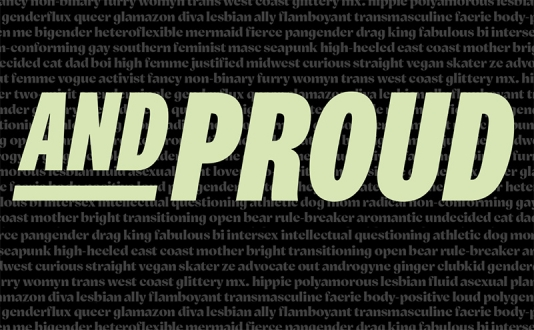 Out and PROUD - CB2 in Union Square, San Francisco
