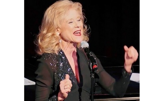 Martha Crawford in You've Gotta Have Hart! at Society Cabaret in Union Square, San Francisco