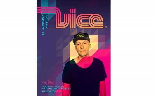 DJ Vice at Ruby Skye in Union Square, San Francisco