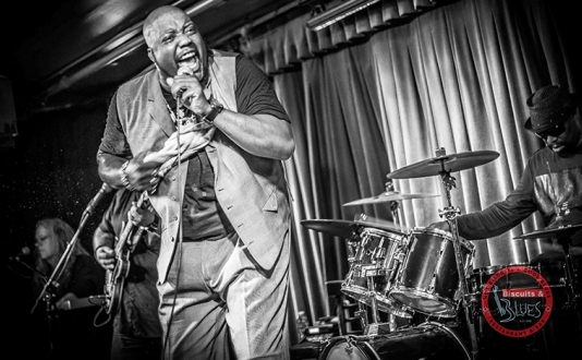 Sugaray Rayford at Biscuits and Blues in Union Square, San Francisco