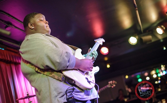 "Christone ""Kingfish"" Ingram at Biscuits and Blues in Union Square, San Francisco"