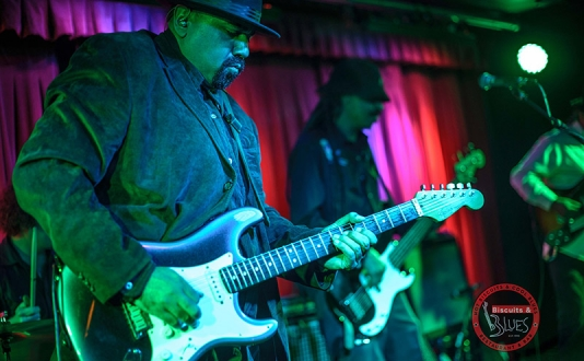 Wayne Baker Brooks at Biscuits and Blues in Union Square, San Francisco