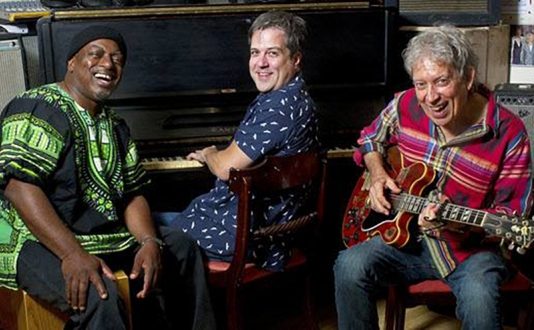 Elvin Bishop's Big Fun Trio at Biscuits and Blues in Union Square, San Francisco