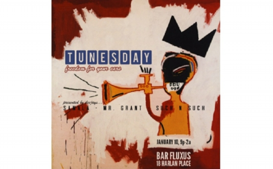 Emilie Schattman & Tunesday at Bar Fluxus in Union Square, San Francisco