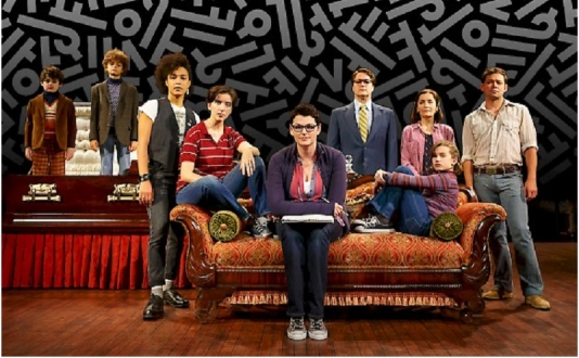 Fun Home at The Curran in Union Square, San Francisco