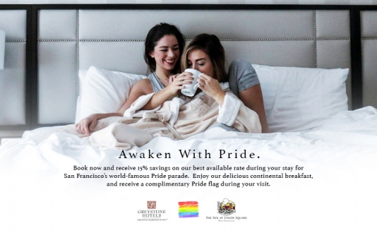 Awaken with Pride—Greystone Hotels & The Inn at Union Square