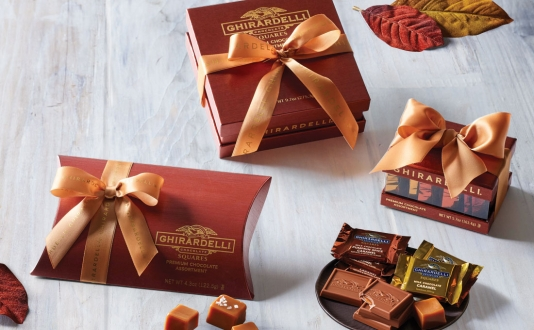 Ghirardelli Fall Collection: Pumpkin Spice Season in Union Square, San Francisco