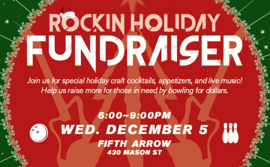 Union Square Foundation's Rockin' Holiday Fundraiser at Fifth Arrow in Union Square, San Francisco