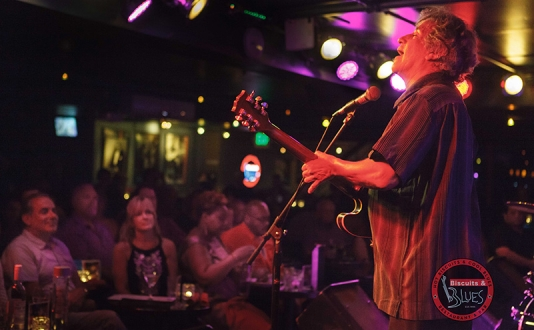 Chris Cain SG: Kid Andersen & Lisa Leuschner at Biscuits and Blues in Union Square, San Francisco