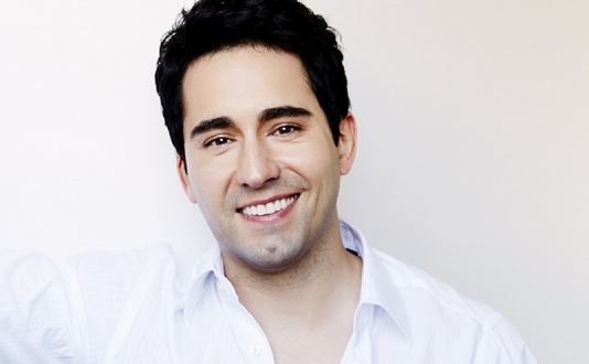 John Lloyd Young at Feinstein's at the Nikko in Union Square, San Francisco
