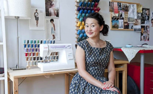 Fashion Design With Jamie Lau at Britex Fabrics in Union Square, San Francisco