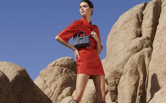 New Longchamp SS20 Collection featuring Kendall Jenner