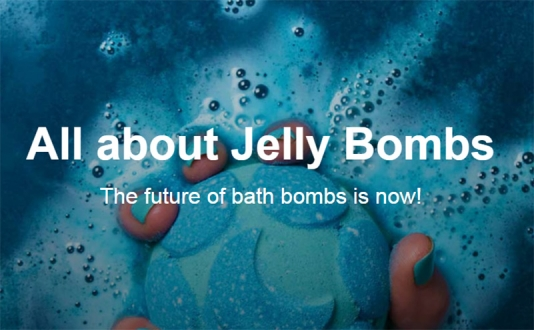 All about Jelly Bombs at Lush in Union Square, San Francisco