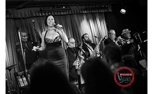 Valentine's Day with Lavay Smith & Her Red Hot Skillet Lickers at Biscuits and Blues in Union Square, San Francisco