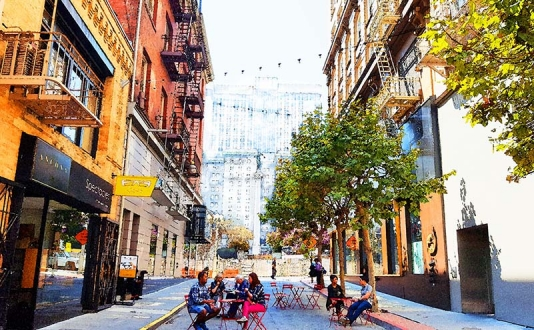 Lunch on the Lane every Friday at 11 to 3 on Maiden Lane in Union Square, San Francisco