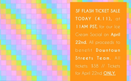 Tickets Flash Sales for April 22!  at the Museum of Ice Cream in Union Square, San Francisco