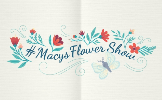 Spring Beauty: Cosmetics Garden Party at Macy's in Union Square, San Francisco