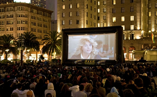 "Film Night in the Park: ""Ferris Bueller's Day Off"" in Union Square Park, San Francisco"