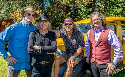 Moonalice in Union Square Park, San Francisco