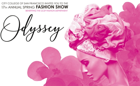 Odyssey: CCSF 17TH Annual Spring Fashion Show at August Hall in Union Square, San Francisco