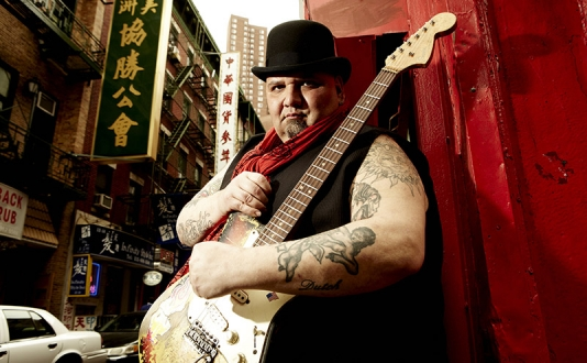 Popa Chubby at Biscuits and Blues in Union Square, San Francisco