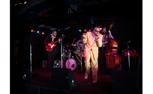 Rick Estrin & the Nightcats at Biscuits and Blues in Union Square, San Francisco
