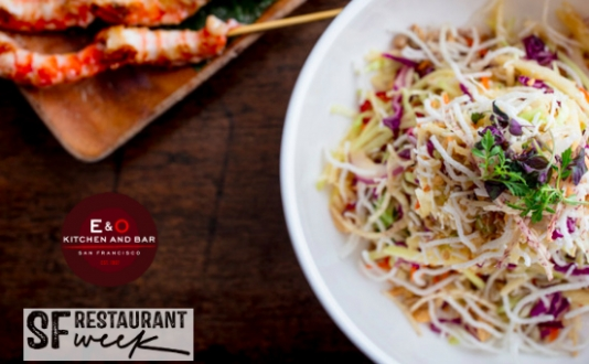 SF Restaurant Week Is Here! at E&O Kitchen and Wine Bar in Union Square, San Francisco