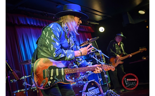 Stevie Ray Vaughan Tribute with Alan Iglesias & Crossfire at Biscuits and Blues in Union Square, San Francisco