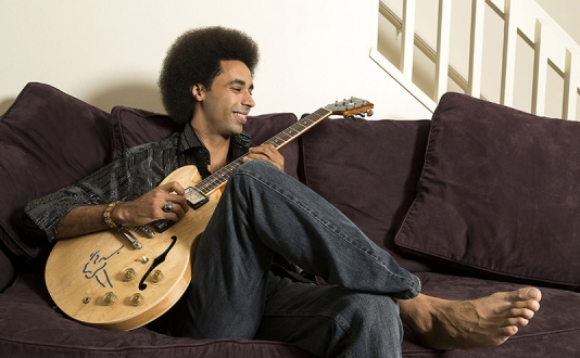 Selwyn Birchwood at Biscuits and Blues in Union Square, San Francisco