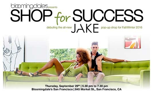Dress for Success Event with Jake Wall