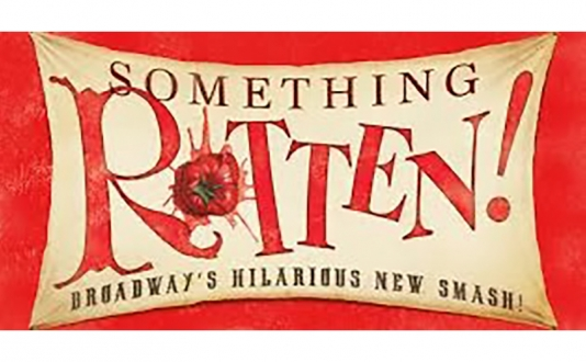 Cast Members from Something Rotten! at Feinstein's at The Nikko in Union Square, San Francisco