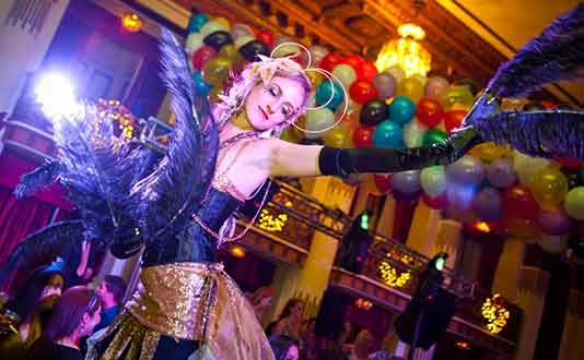 New Years Eve 'Passport to the World' at the Westin St. Francis Hotel